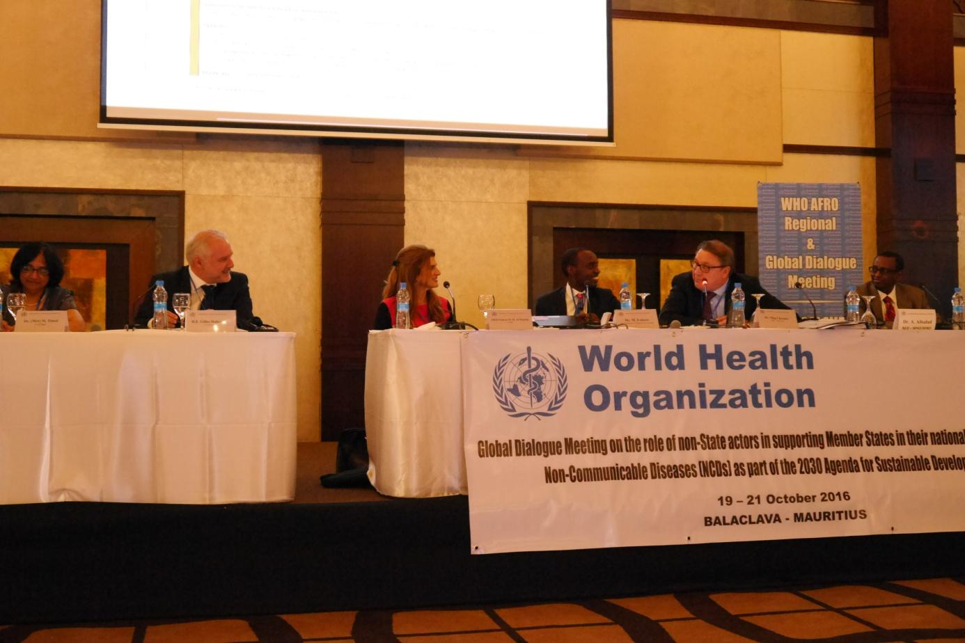 Dialogue mondial collaborer dans la lutte contre les for Chambre de commerce maurice